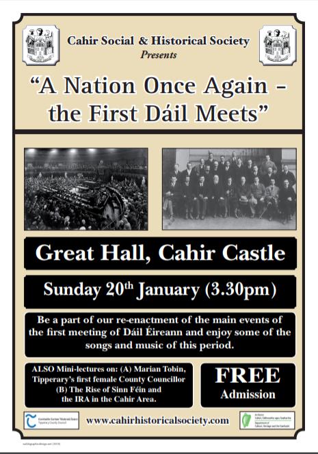 First Dáil Meets
